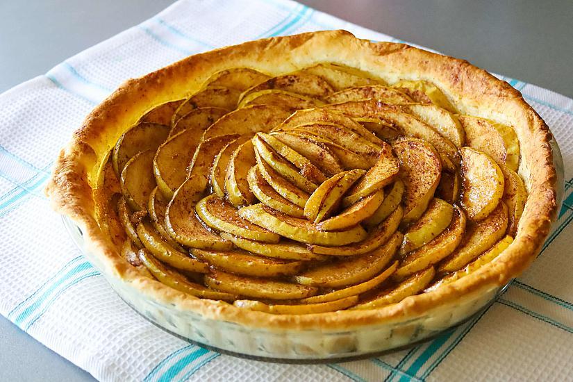 Лесна ябълкова тарта