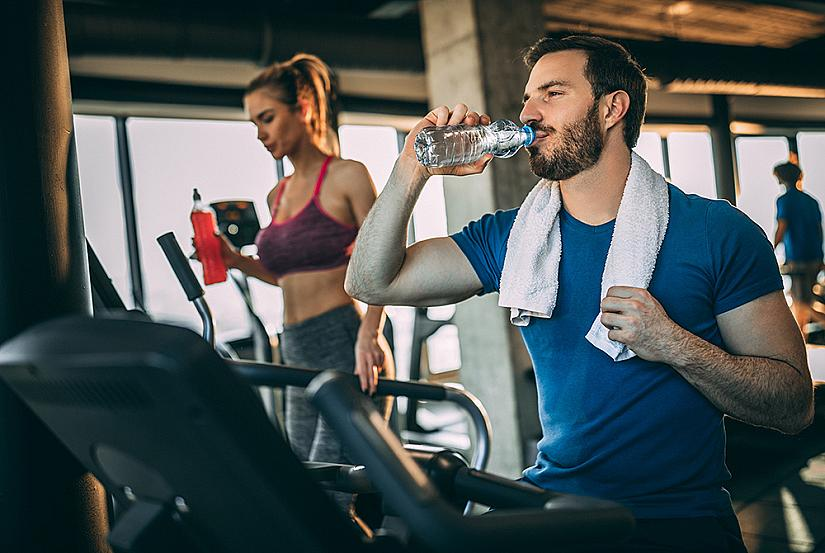 Пийте вода докато тренирате